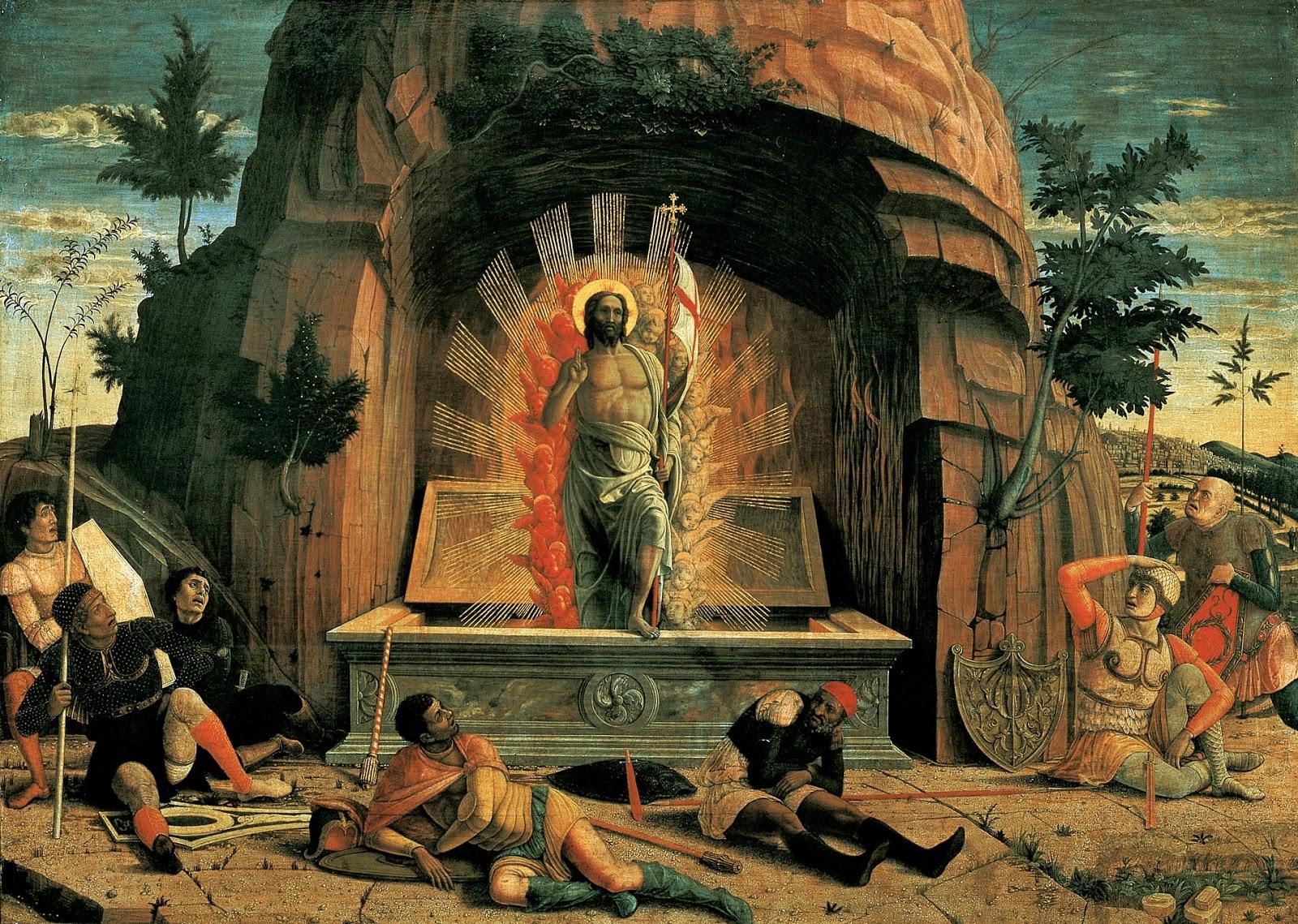 Andrea Mantegna-The Resurrection (1457-1459)